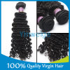 Cuticle Intact Prefectly Human Hair 7A Grade Curly Hair Deep Wave