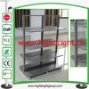 Boutique Store Metal Gondolas Unit with Acrylic Back Panel
