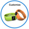 Logo Printed Bluetooth Fitness Band