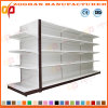 Fashion Double Sides Gondola Metal Supermarket Shelves (ZHs615)