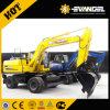 0.45m3 Excavator Bucket Capacity Yugong Brand 12.6t Wheel Excavator WYL135