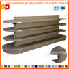 Fashion Round Head Gondola Customized Supermarket Display Shelf (ZHs605)