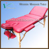 Portable Wooden Massage Table /Wooden Salon Furniture / Yoga Beds (EB-W011X)
