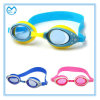 Square PC Mirror Coating Kids Silicone Swimming Goggles