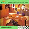 Wooden Melamine Manager Office Table Steel Leg Office Furniture (HF-B265)