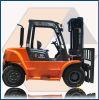 5.0 Ton Diesel Forklift with Isuzu Engine