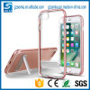 Ultra-Thin Transparent Crystal Clear Case with Stand for iPhone 5s