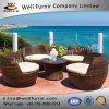 Well Furnir Rattan 5 Piece Deep Seating Group with Cushion WF-17005
