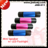 Portable Outdoor Mini Speaker with Flashlight (JHD-011)