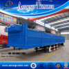 Hot Sale 3axle Curtain-Side Flatbed Side Wall Cargo Semi Trailer