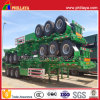 Mechanical Suspension Tri-Axle 40ft Container Transport Skeleton Semi Trailer