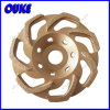 """L"" Shaped Segment Diamond Row Cup Grinding Wheel"