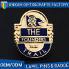 Zinc Alloy Soft Enamel Metal Lapel Pins Custom Military Badge