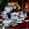 Jingdezhen Porcelain Tableware Dinnerware Kettle Set (QW-828)