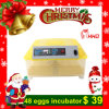 Automatic Mini Incubator for Hatching 48 Chicken Eggs