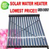 Pressurized Heat Pipe Vacuum Tube Solar Hot Water Heater Solar Collector