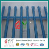 Colourful D or W Garden Fence Iron Fence Steel Palisade Fencing