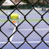 PVC Coated Security Wire Mesh Chain Link Fence Panel