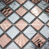 Crystal&Glass Tiles, Straight Flange Glass and Crystal Surface/ Mosaic Tiles