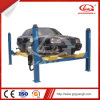 Ce Moveable Four Post Hydraulic Car Parking Lift with 4-Wheel-Alignment
