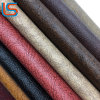 Sofa Leather PVC Synthetic Leather Vinyl Leather with Tone Tone Color