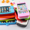 Silicone Mobile Phone Case for iPhone 6 Plus Cover (C9600)