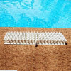China Factory High Quality ABS Swimming Pool Gutter Grating