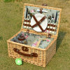Hot Selling Handmade Environmental Wicker Camping Basket Without Dishware