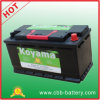 Hot Sale Exide 12V100ah Auto Maintenance Free Car Battery 60038-Mf