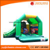 Jungle Animal Inflatable Moonwalk Combo with Slide Toys (T3-022)