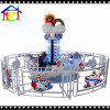 Kids Indoor Playground Coin Operated Ride Machine Super Plane