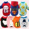 Super Dog Velvet Cool Coat Printing Pet New Clothes