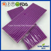 Wedding Party Supply Decoration Plain Purple Paper Straw