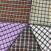 Little Houndstooth Check Wool Fabric