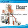 Multicolours Double Scews One Head Film Blowing Machine