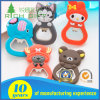 3D Cartoon Soft PVC Engraved Hardware Love Keychain Factory Price Available