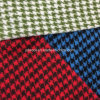 Loop Houndstooth Wool Fabric Overcoat