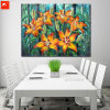 Realist Flowers Oil Painting on Cotton Canvas