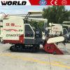 4lz-4.0e 1.4m3 Grain Tank Small Rice Harvester Machine