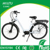700c MID-Drive Motor Electric Bike 2017 with Front and Rear Carrier
