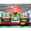 Giant Inflatable Water Slide for Adult/Bright Color Inflatable Water Slide with Pool