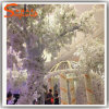 White Artificial Cherry Blossom Tree for Wedding Decoration