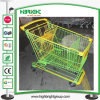 210L Galvanized Supermarket Hand Shopping Trolley