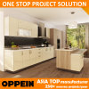 Oppein Fast Delivery Melamine Laminate Wood Wholesale Kitchen Cabinet (OP14-K004)