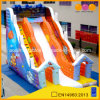 Cheap Price Orange Outer Space High Inflatable Slide (AQ137)