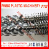 38CrMoAl Nitriding Treatment Plastic Extruder Screw and Barrel