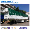 13m 3 Axle Side Wall Cargo Van Semi Truck Trailer Heavy Duty