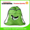 Cute Green Polyester Drawstring Backpack for Teens