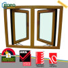 UPVC Plastic Colored Open Outside Glass Window for House