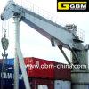 Gbm Knuckle Boom Deck Crane Fixed Boom Marine Cranes